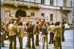 comizio AO primo maggio 1974