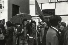 manifestazione 25 aprile 1973