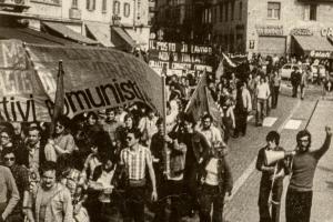 Manifestazione AO anni 70