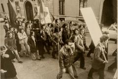manifestazione AO anni settanta