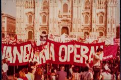 Manifestazione di AO a Milano