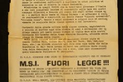 Bertoni CDF MSI fuorilegge 1975